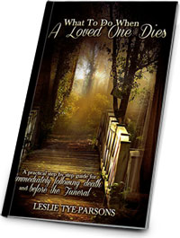 eBook - What To Do When A Loved One Dies
